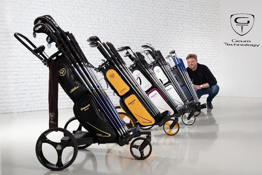Golf Geum Technology Golf Trolley